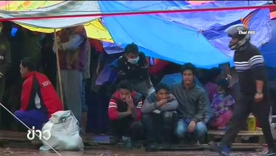 ชาวเนปาลหวั่นฝนตกทำอาคารทรุด ยังกางเต็นท์นอนนอกที่พัก