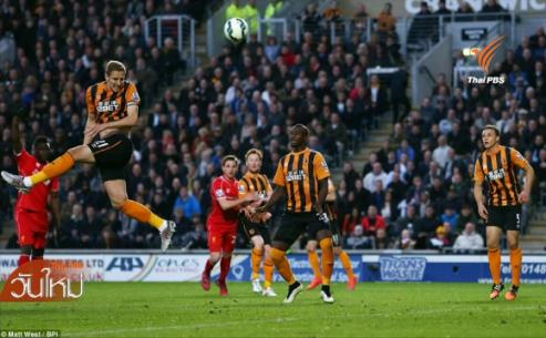 ฮัลล์ ซิตี้ ชนะ ลิเวอร์พูล 1 - 0 ในฟุตบอลพรีเมียร์ลีก อังกฤษ