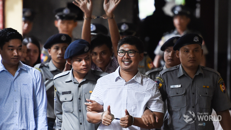 The sentencing of two Reuters reporters, Wa Lone and Kyaw Soe Oo, to seven years in jail early this month is seen as part of the campaign to silence independent media in Myanmar.