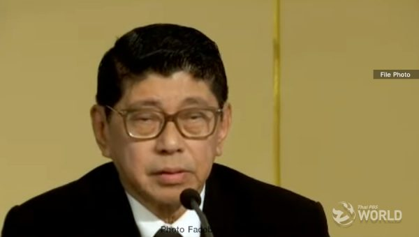 Royal Decree on the election is already sent to HM the King: Dr Wissanu
