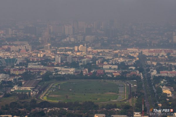 Slight improvement in air quality in and around Bangkok today