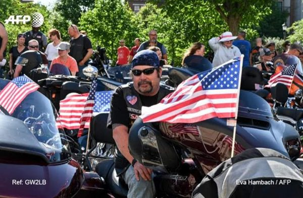 Bikers stage last 'Rolling Thunder' to honor missing US soldiers