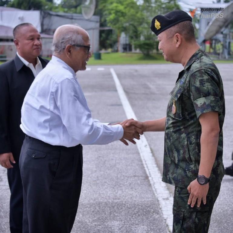 Malaysian peace talk facilitator visits Thailand's deep