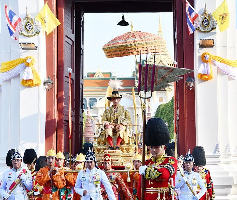 The Coronation of King Rama X, 4-6 May 2019