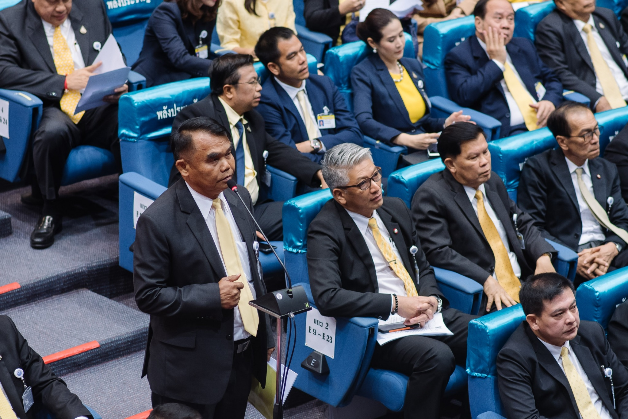 Parliamentary policy debate, 25-26 July 2019