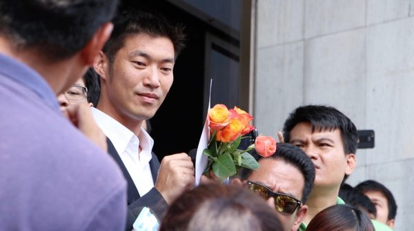 Thanathorn defends himself in Constitutional Court