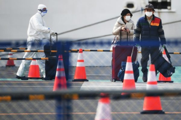 Two coronavirus-hit Diamond Princess passengers die
