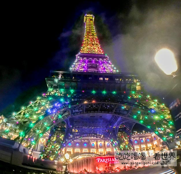 澳門巴黎鐵塔燈光秀