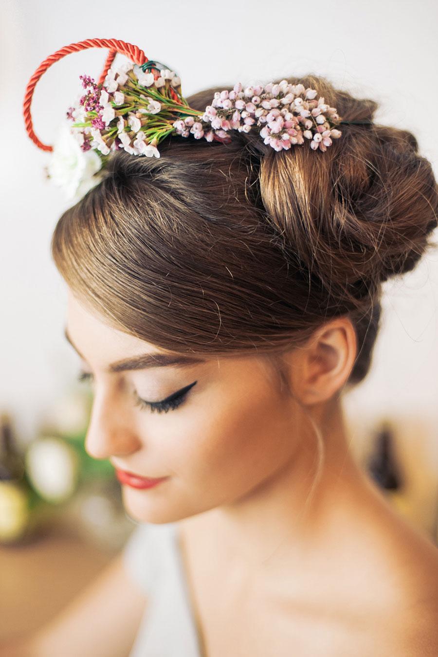 The wedding scoop flower crown d i y tutorial izmirmasajfo