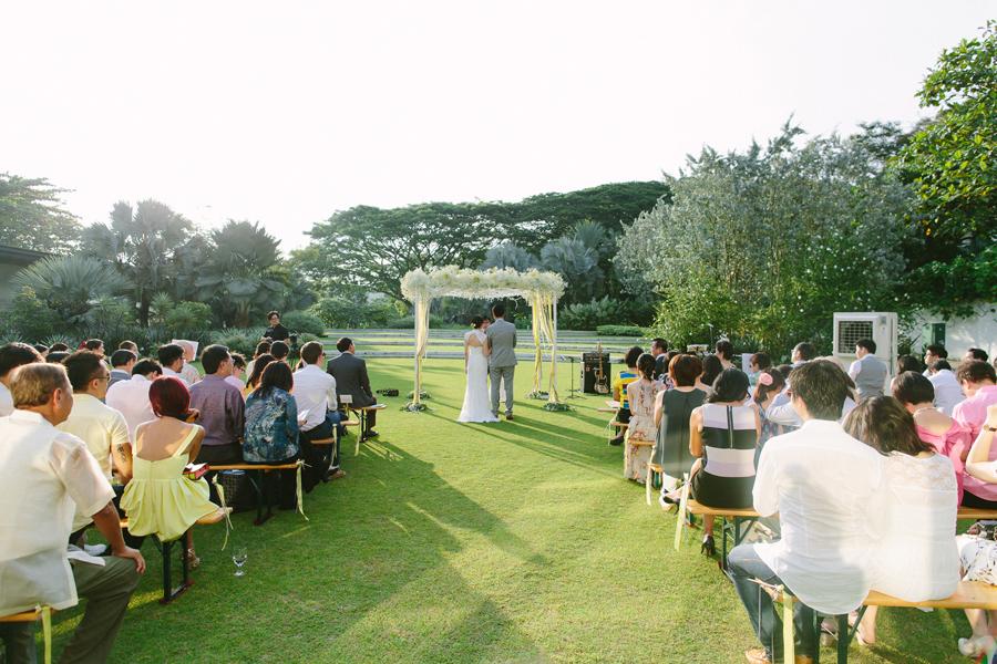 Vineyard hortpark wedding