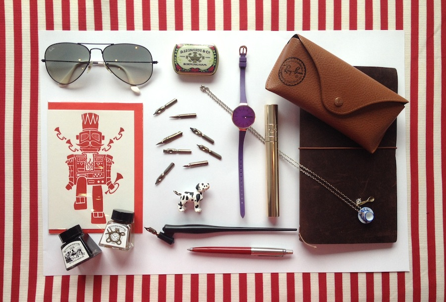 Kalo Make Art - What's in My Bag