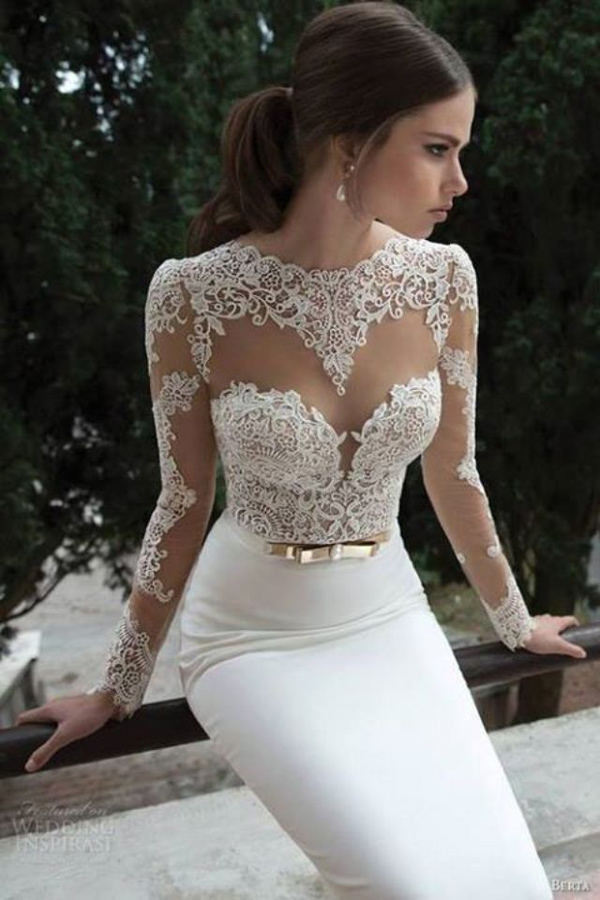 Sexy wedding dresses pictures
