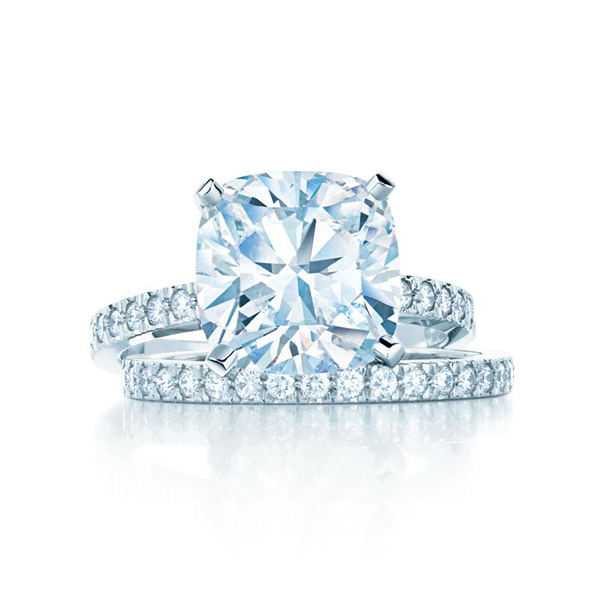 Tiffany Engagement Rings Round The Wedding Sco...