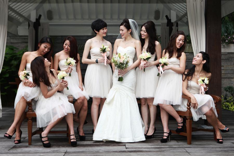 bridesmaids dress singapore