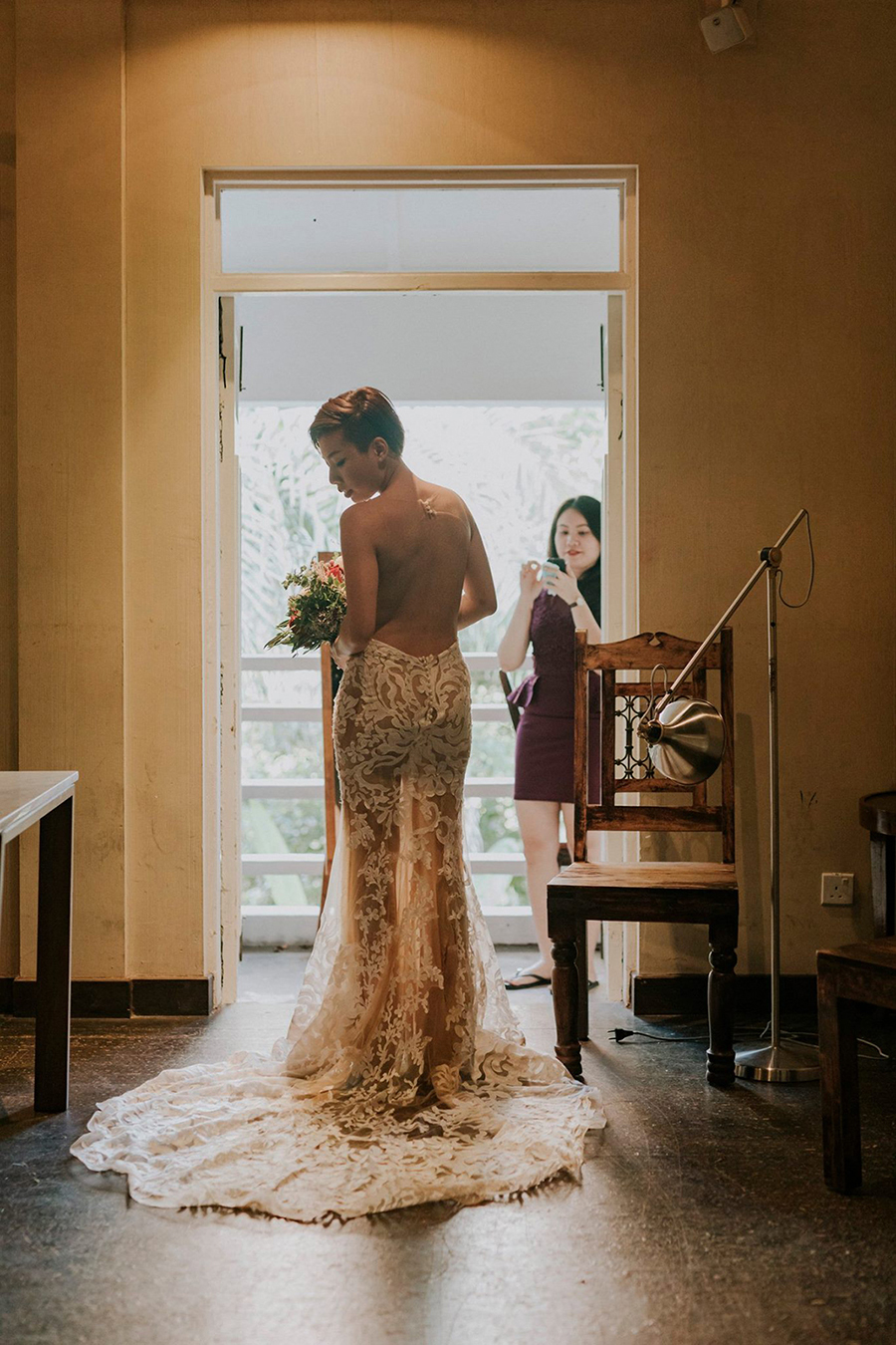 The wedding scoop today she shares how she saved thousands on her wedding decor and planned her wedding with help from taobao and daiso for under 25k junglespirit Images
