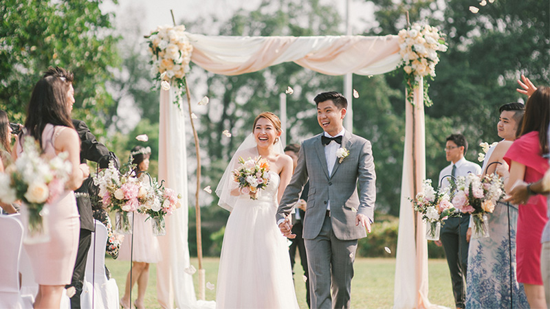 Wei Kiat and Ee Von's Wedding in a Colonial-Style Boutique Hotel