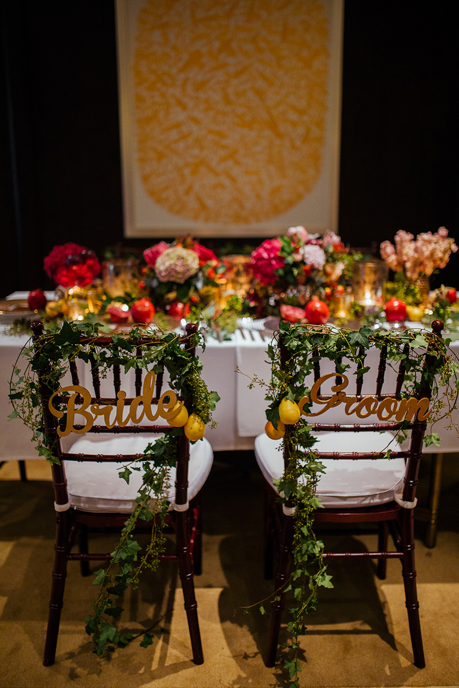 The wedding scoop spring cottage along with our love of warm weather we brought an exuberant look for autumn weddings with a theme that is passionate junglespirit Image collections