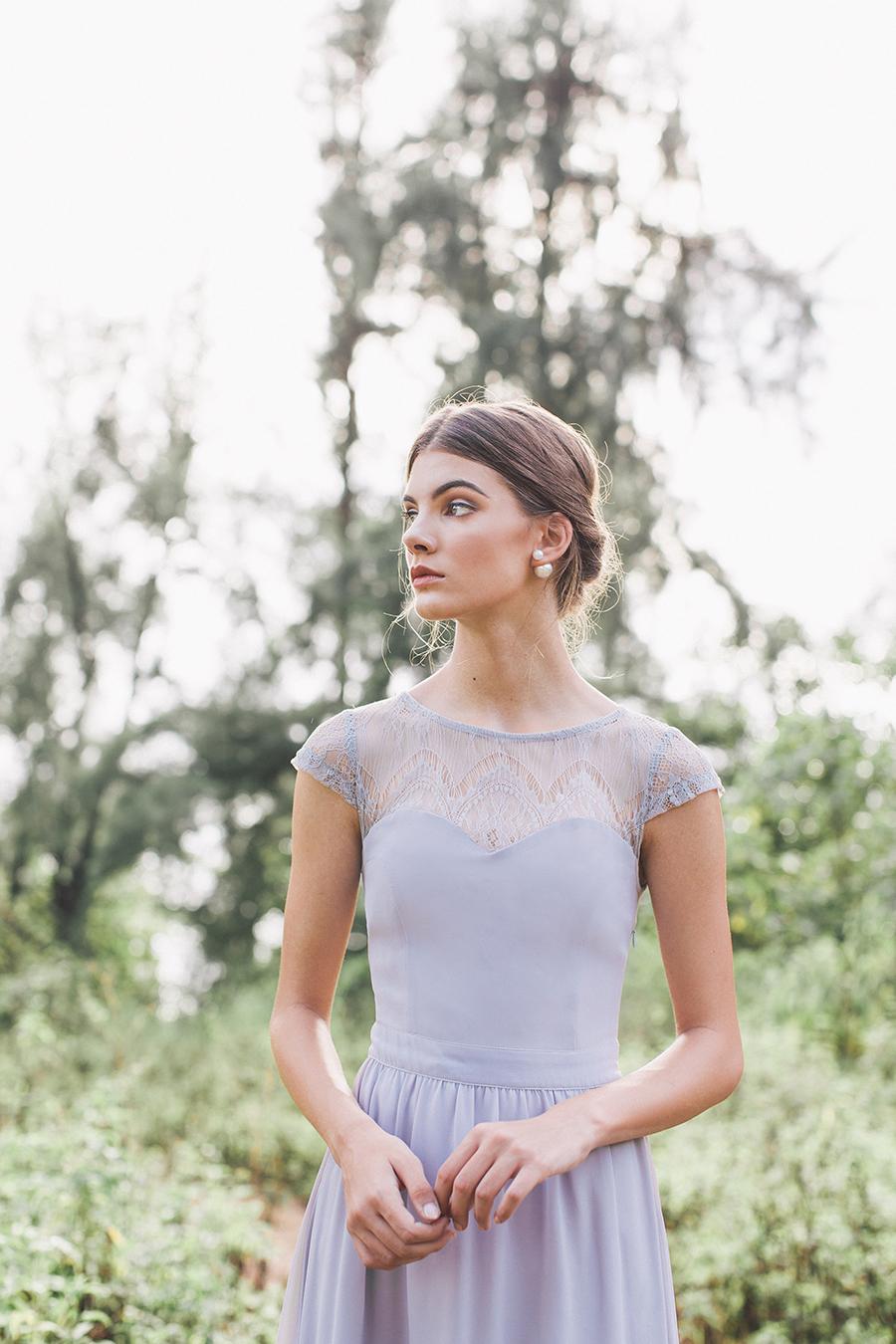The wedding scoop maribel crochet flare dress 45 ombrellifo Gallery