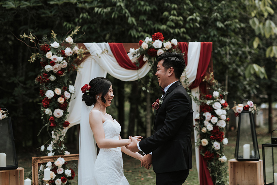 Brandon and Sarah's Rustic-Glam Wedding in Janda Baik