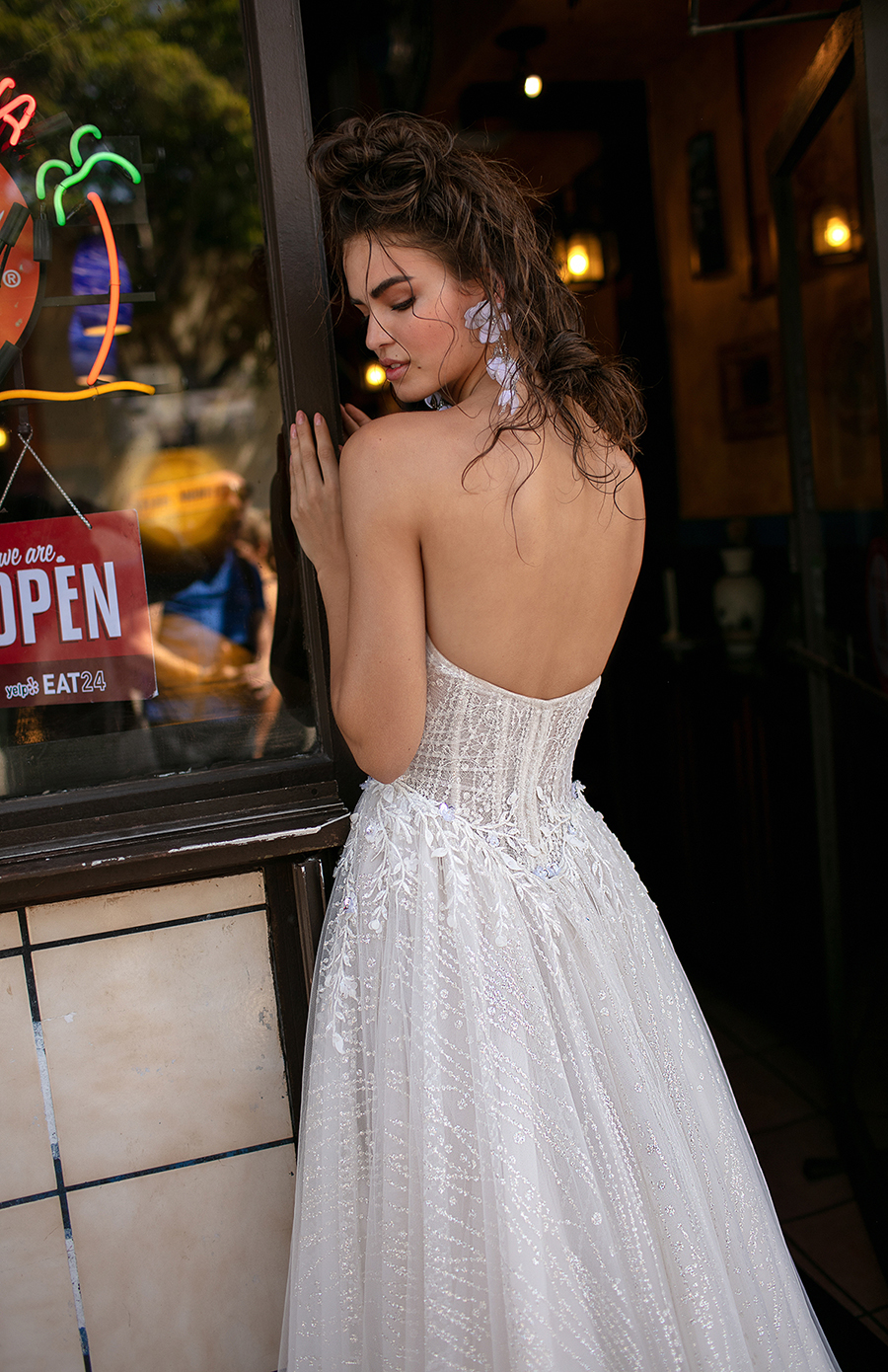 f855125510e The hand beaded and attention to each detail on the gown is only meant for  highly skilled and talented individuals such as Berta and her team.""