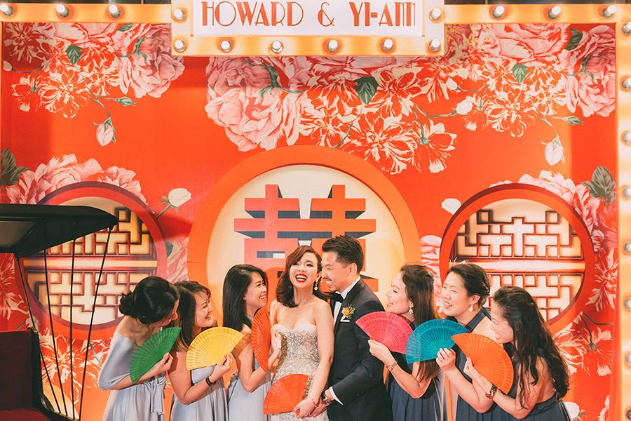 Old Shanghai Glamour: Howard and Yi-Ann's Wedding at Grand Hyatt Kuala Lumpur