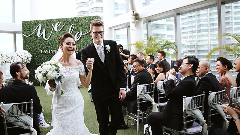 Soren and Lavinne's Breathtaking Wedding on the 57th Floor of the Petronas Towers