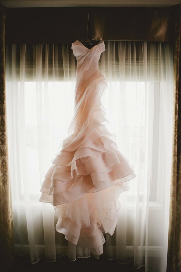 Couture wedding dresses tumblr long pink