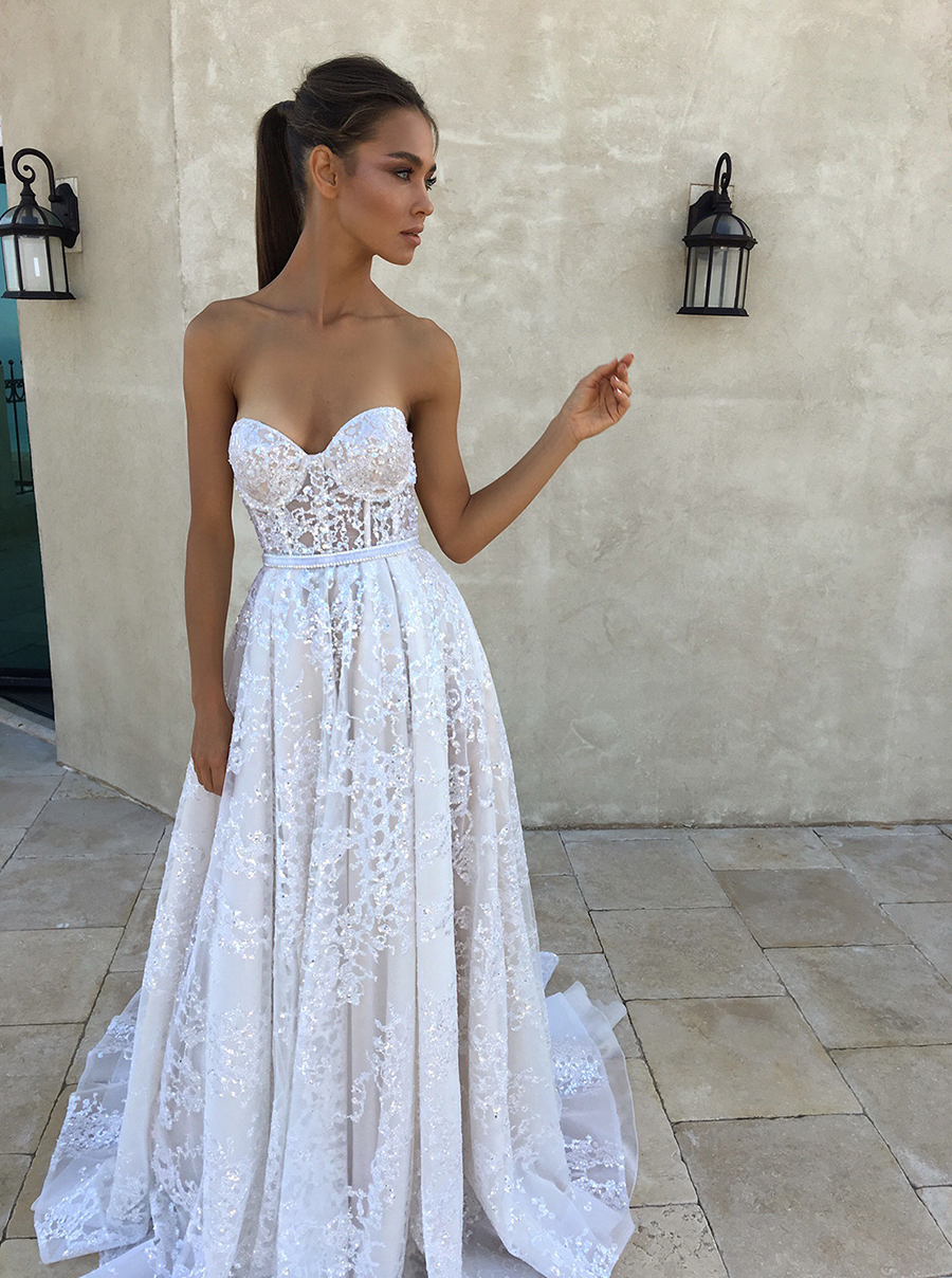 The wedding scoop for Winter style wedding dresses