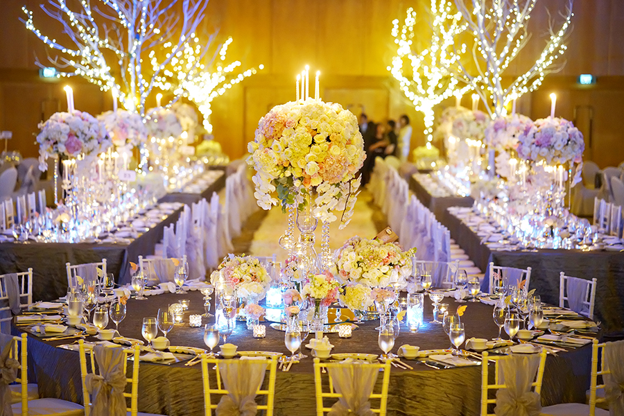 The wedding scoop wedding banquet photographed by lightedpixels photography and planned by our fairytale wedding with its unforgettable entrance by the bride in light up junglespirit Gallery