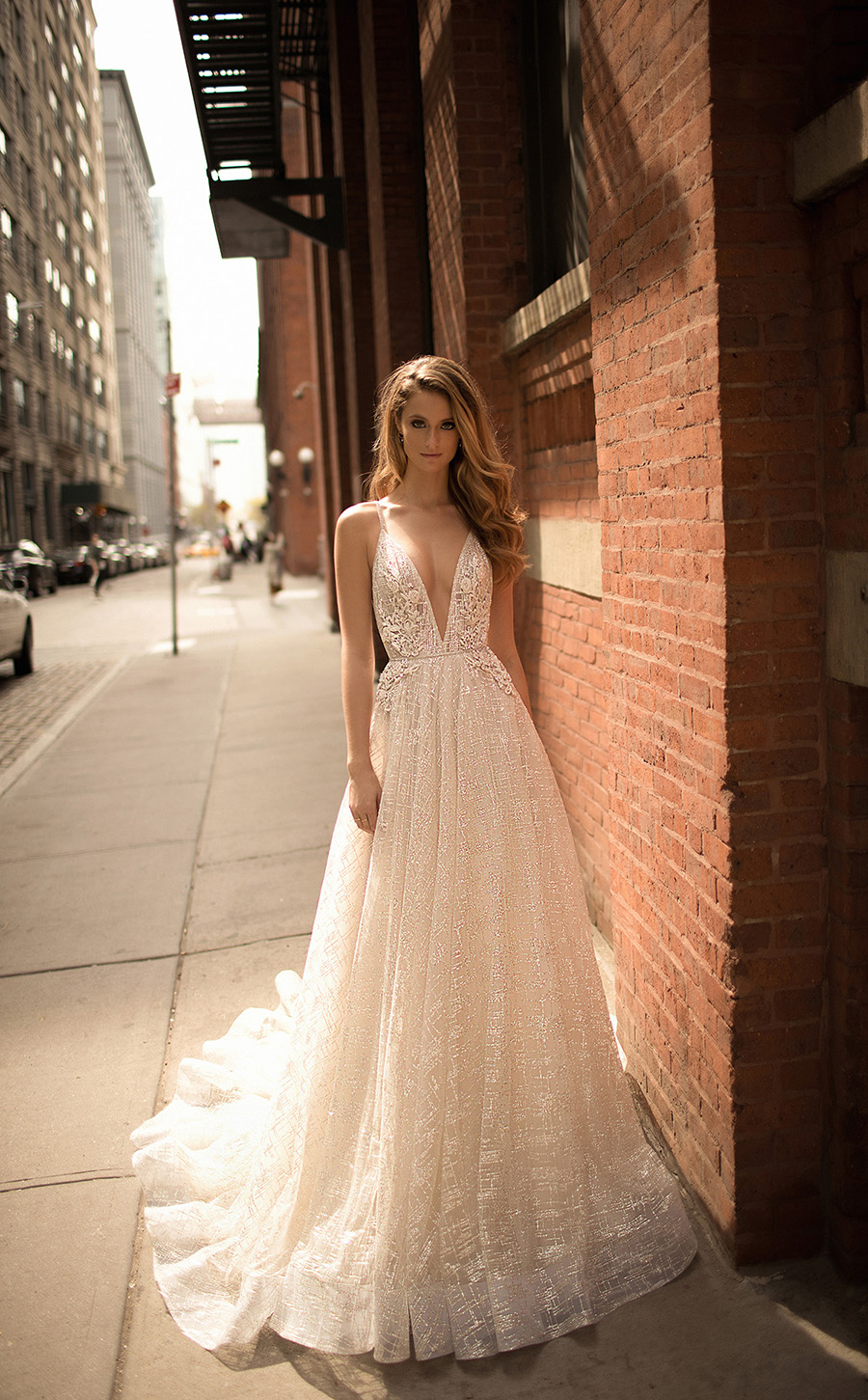 1c92319c2f1e Hot on the heels of their Muse bridal line comes Berta s Spring Summer 2018  collection of wedding dresses
