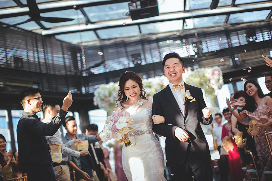 The Princess and The Frog: Ernest and Kit Yee's Wedding at Le Meridien Hotel