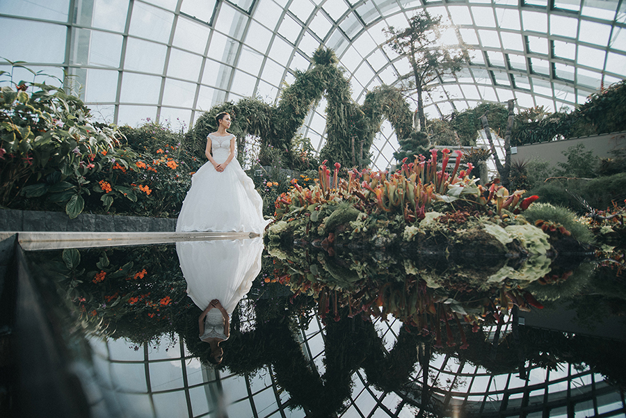 Most Beautiful Indoor Pre-Wedding Photography Locations in Singapore – Part 1