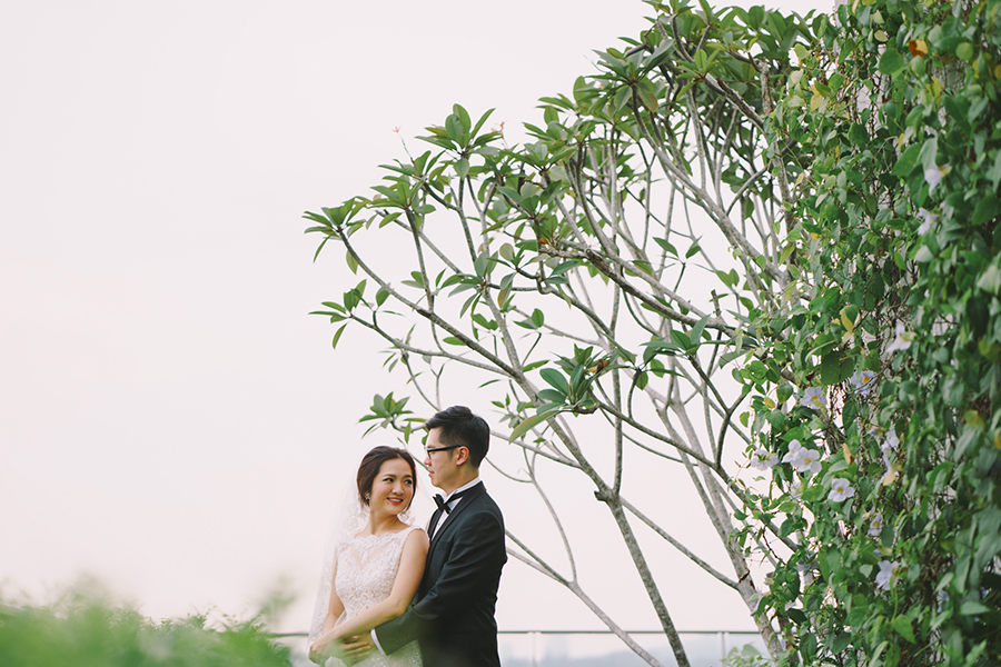 Back to Basics: Hoo Eng and Chen Li's Wedding at Icon Residence Mont Kiara