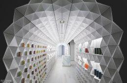 Thiết kế shop hiện đại