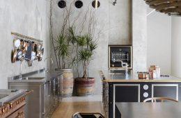 thiết kế showroom nội thất bếp