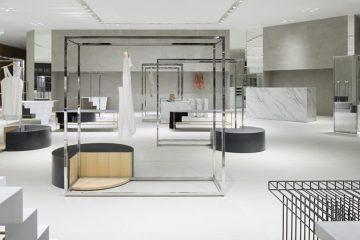 thiết kế cửa hàng thời trang sang trọng