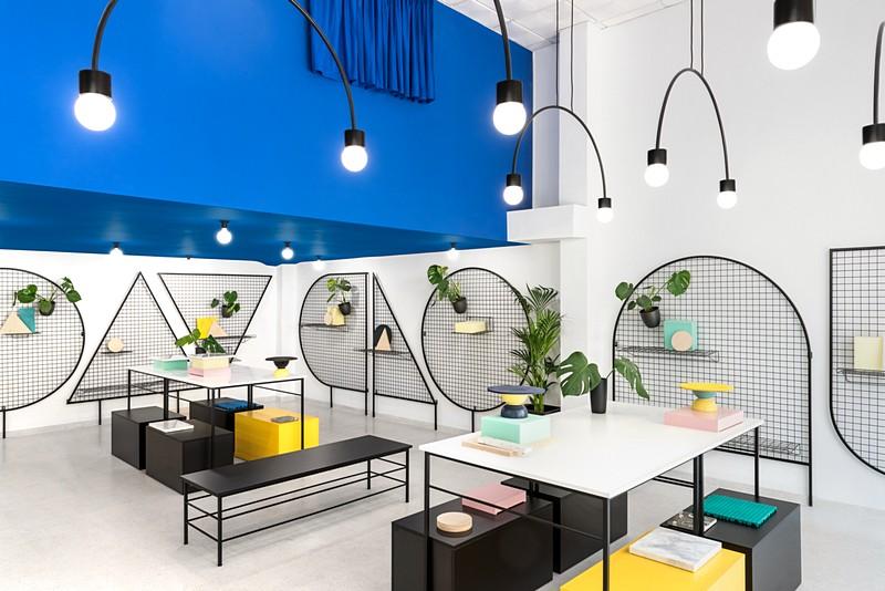 thiết kế cửa hàng nội thất