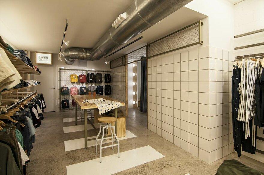 thiết kế cửa hàng thời trang đô thị