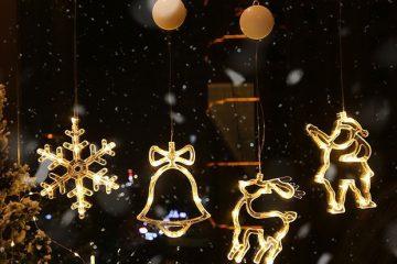 Đèn Trang Trí Noel Cho Shop