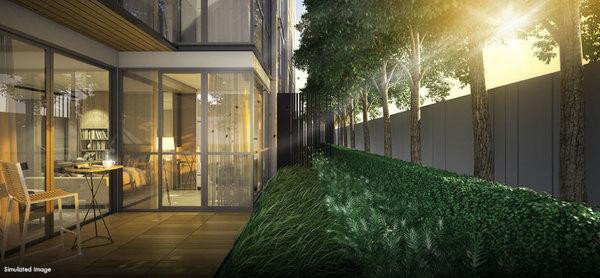 Balcony Garden (Ground Floor)