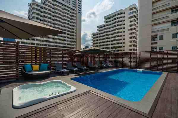 Rus Suite Sukhumvit6 Serviced Apartment Rooftop