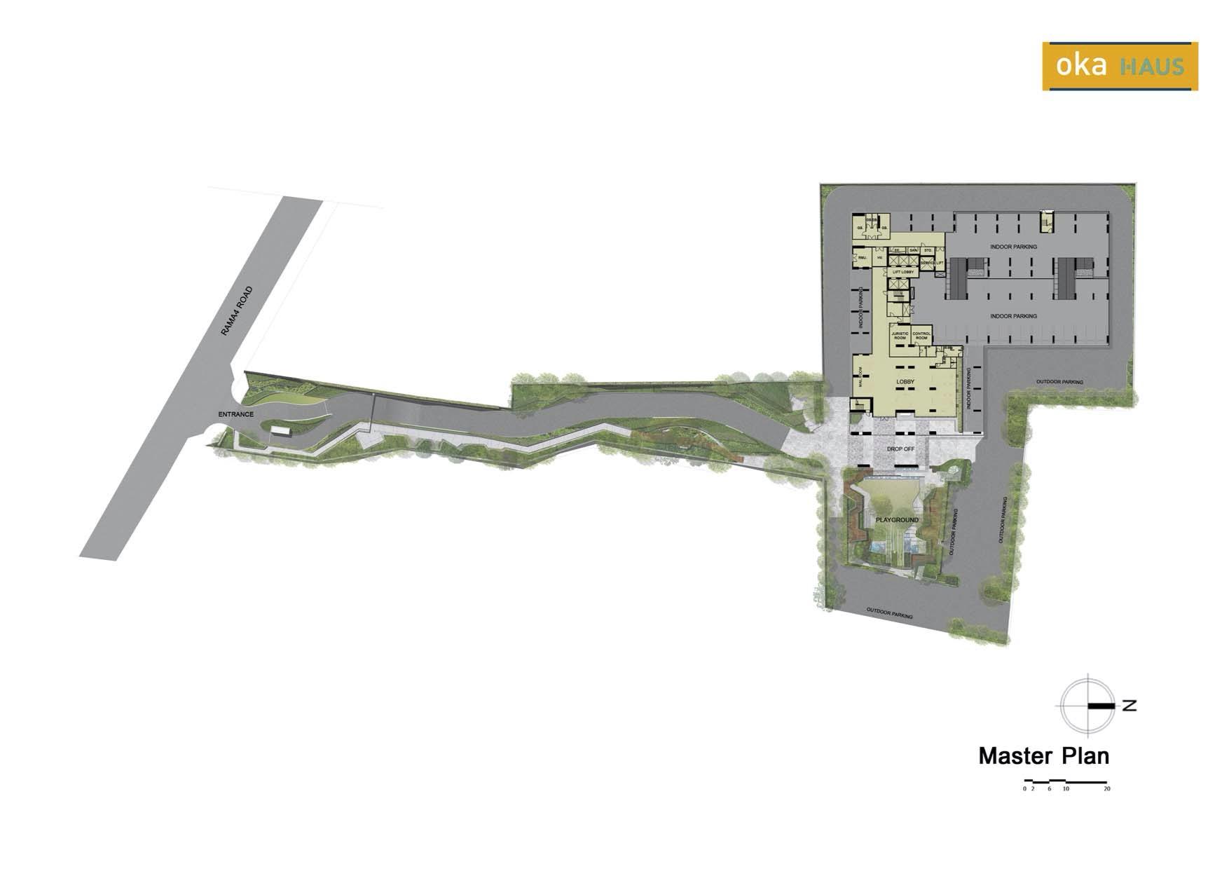 Oka Haus Sukhumvit 36 Master Plan