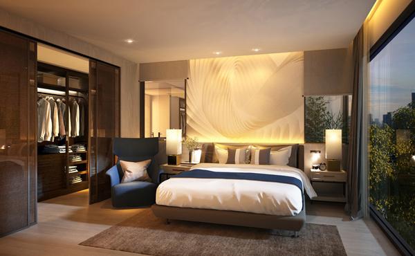 Master Bedroom (2 Bedroom Unit)
