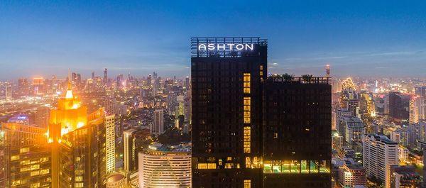 Ashton Asoke Building Exterior