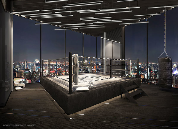 Park Origin Thonglor Tower C Gym Boxing
