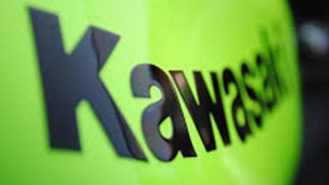 Logo Kawasaki.