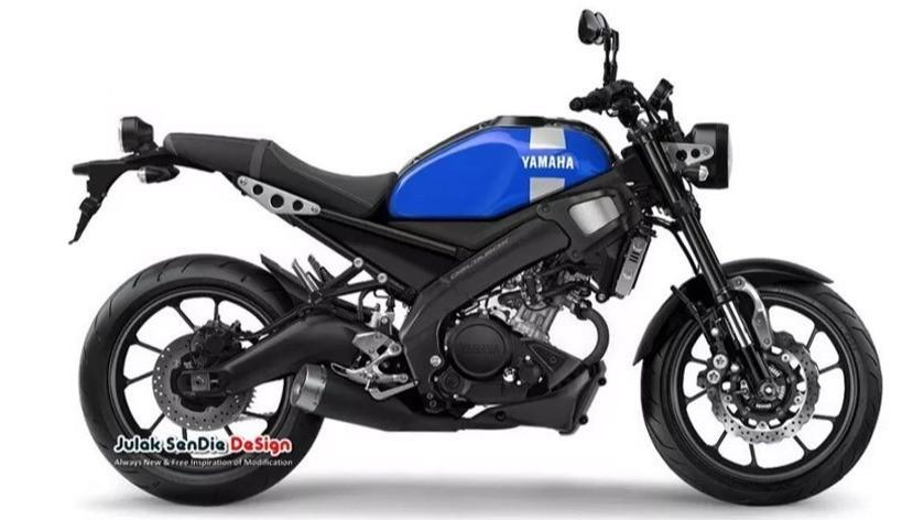 Rendering Yamaha XSR-155.