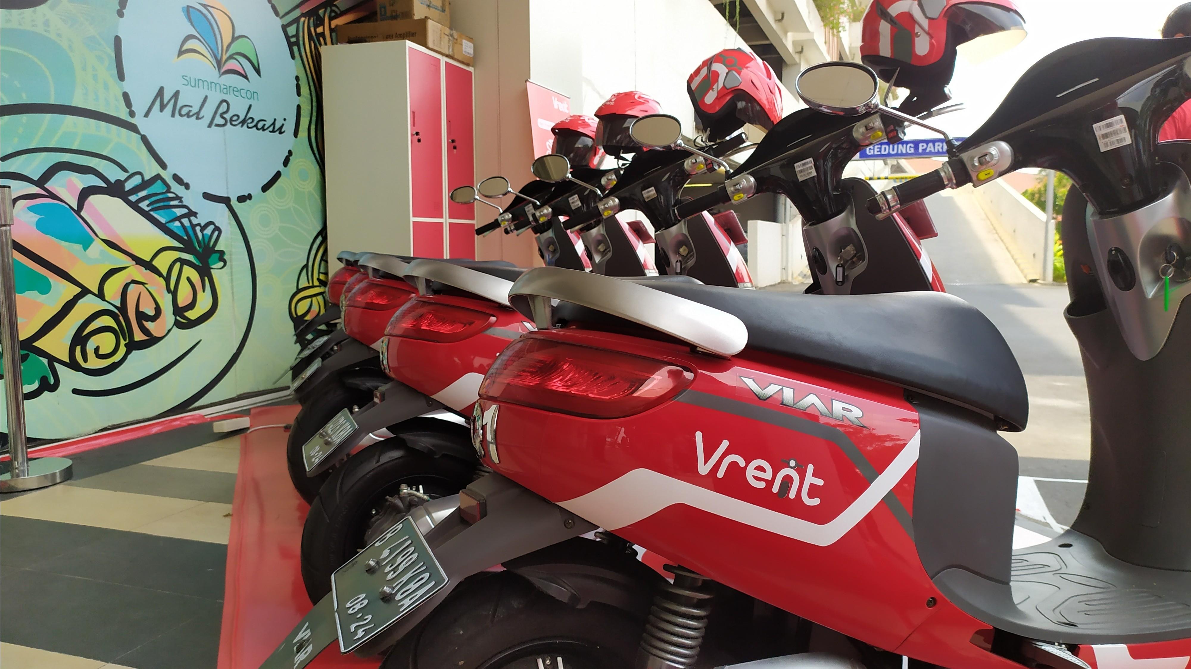 Penyewaan Motor Listrik Viar di Bekasi