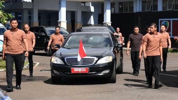 Mobil kepresidenan RI.