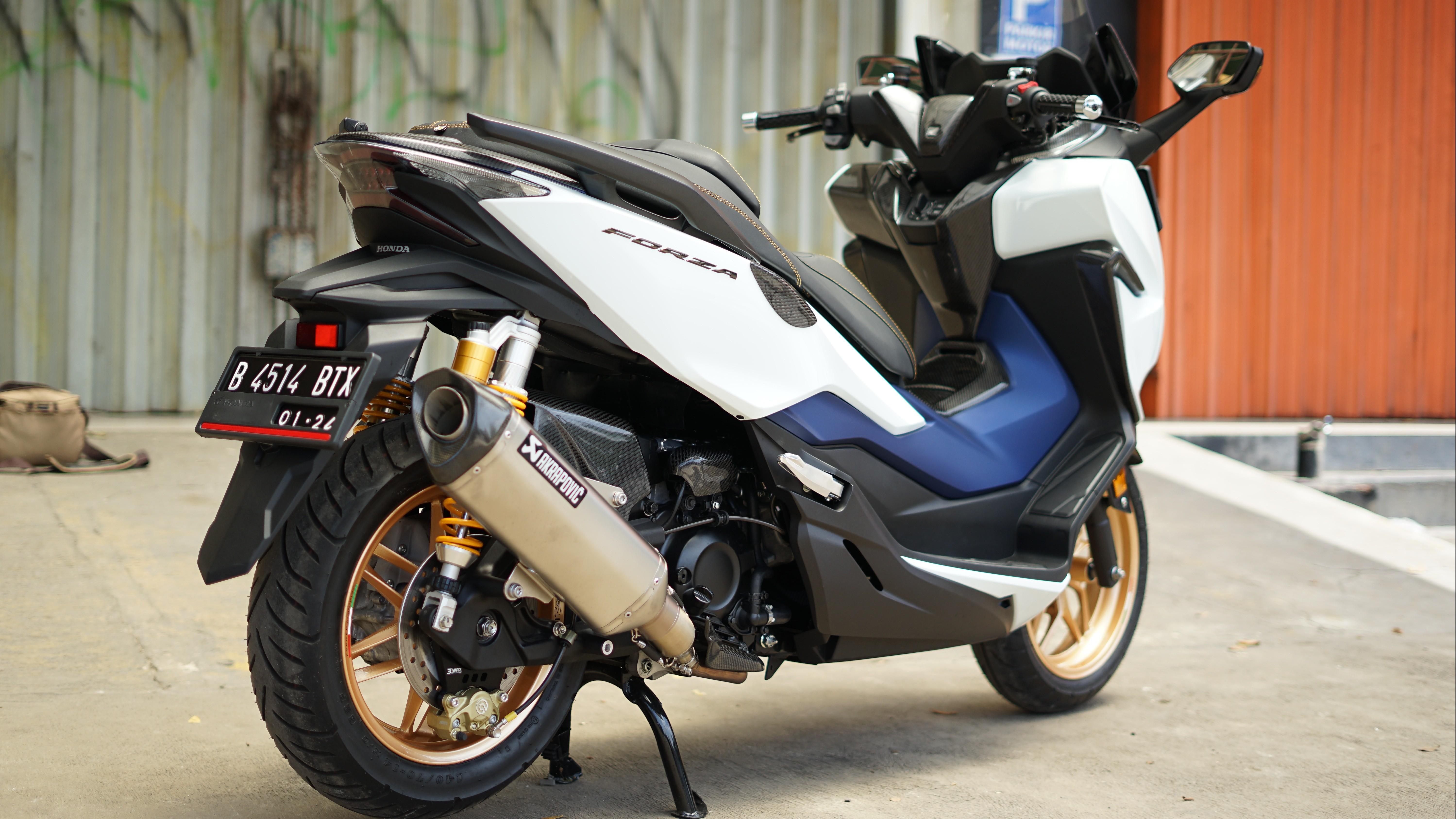 Modifikasi Honda Forza